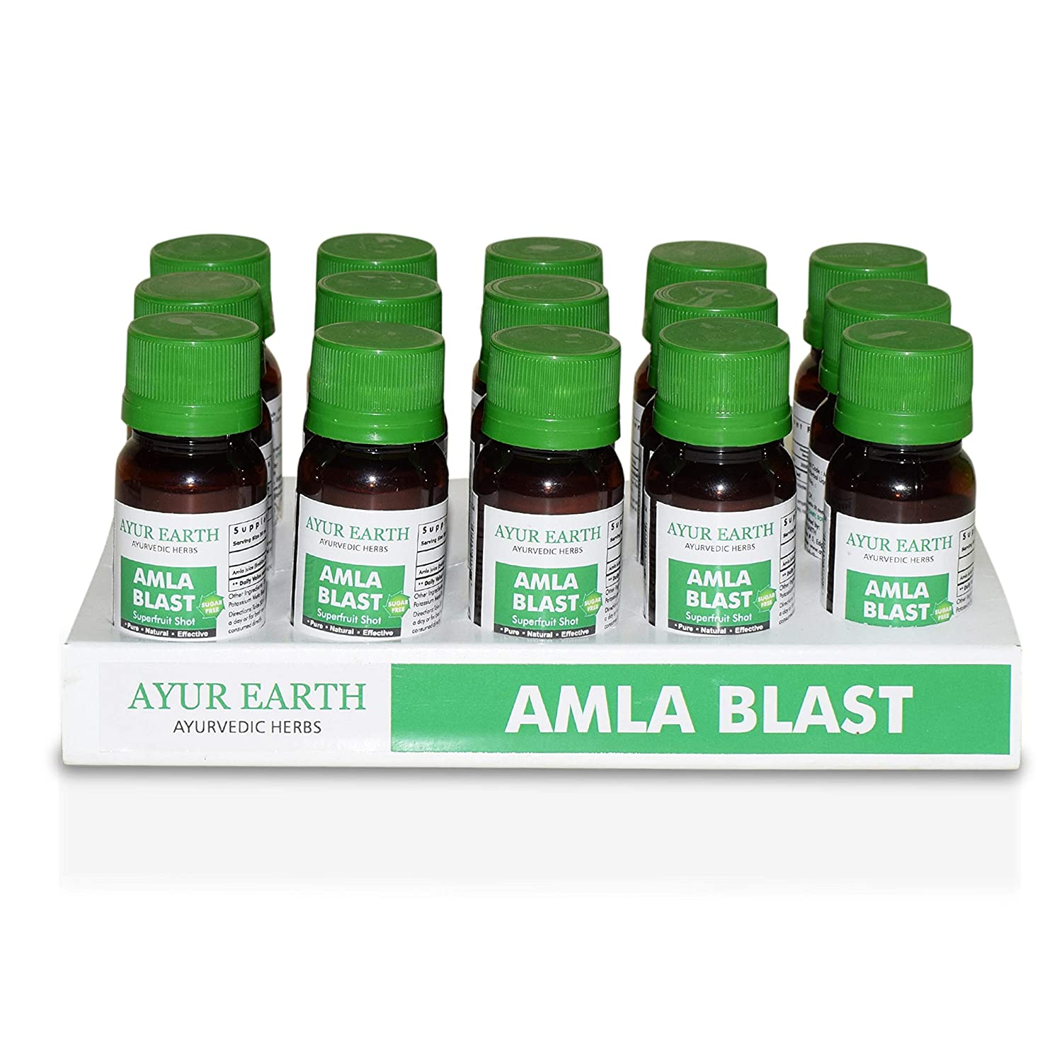 Amla Amalaki Superfood Supreme Shots 30000 Mg Highest Potency Available – Ayurveda Natural Formula – Liquids Work Faster Than Pills – Hair, Skin, Nail Health -Boost Immune System – Powder Replacement