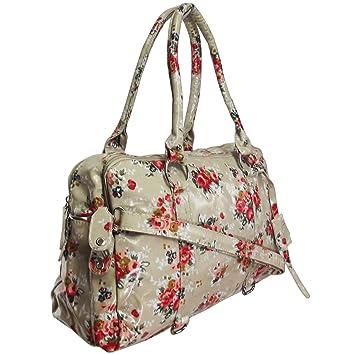 Ukfs Blumen Felicia Handtasche Damen Madchen Designer Blumen Druck