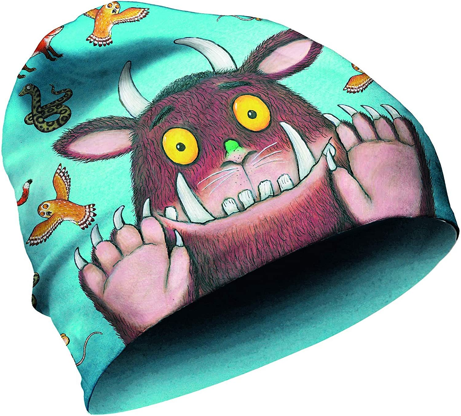 Panther Gruffalo Childrens Fleece Beanie Hat with Absolute Skin Compatibility Made in Germany