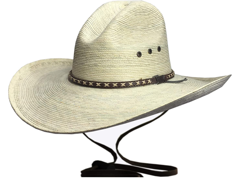 BULL-SKULL HATS Palm Leaf Cowboy Hat 8361a9b9bcd