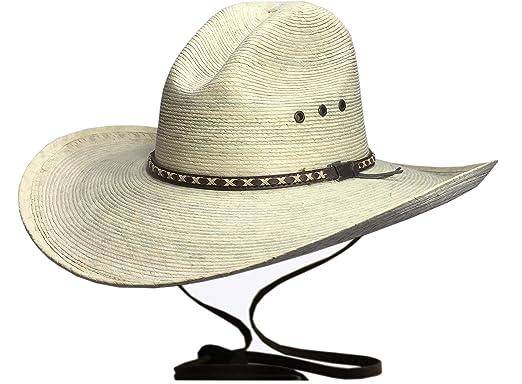 BULL-SKULL HATS Palm Leaf Cowboy Hat 62615c3b371