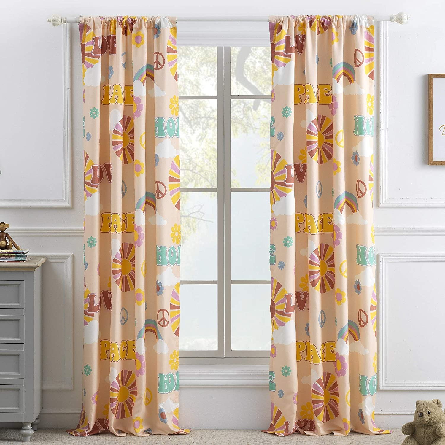 Greenland Home Fashions Cassidy Curtain Panel Set (Set of 2)