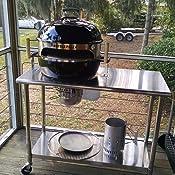 kettlepizza baking steel steel skillet lid for 22 5 kettle grills garden outdoor. Black Bedroom Furniture Sets. Home Design Ideas