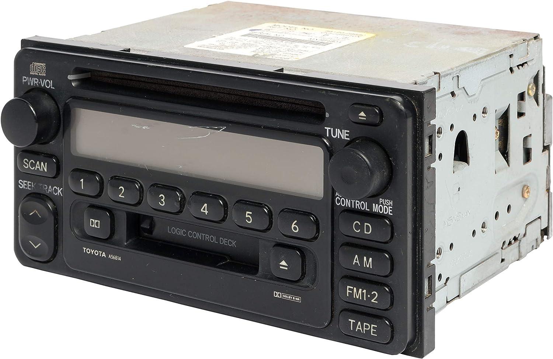 Toyota Auris a partir de 01//2013 doble 2 din radio diafragma radio diafragma negro 381300-24