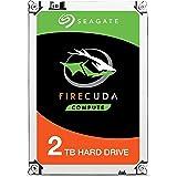Seagate 2TB FireCuda Gaming SSHD SATA 6Gb/s Flash Accelerated (8GB) Performance Hard Drive (ST2000LX001)