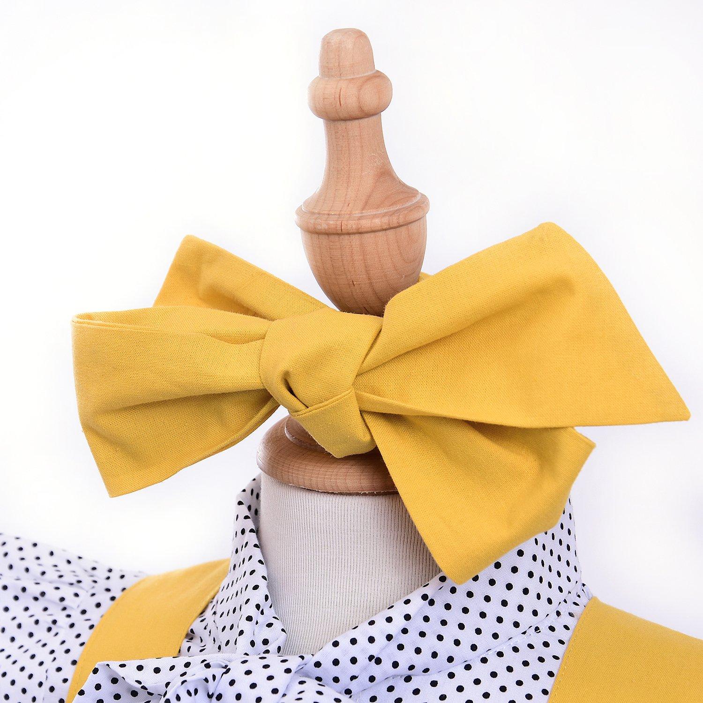 Kids Baby Girl 3pcs Outfits Polka Dot Ruffles Sleeve Bowknot Shirt Top+Suspender Braces Skirt Overalls with Headband
