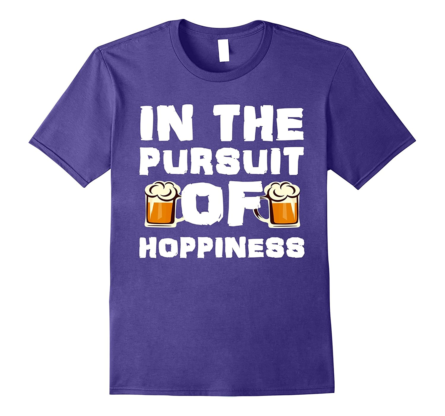 The pursuit of hoppiness funny craft beer ipa pun t shirt for Funny craft beer shirts