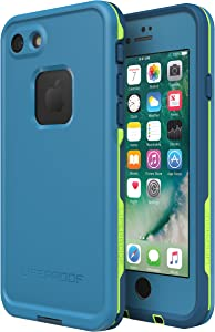Lifeproof FRē Series Waterproof Case for Iphone 8 & 7 - Retail Packaging - Banzai (Cowabunga/Wave Crash/Longboard)