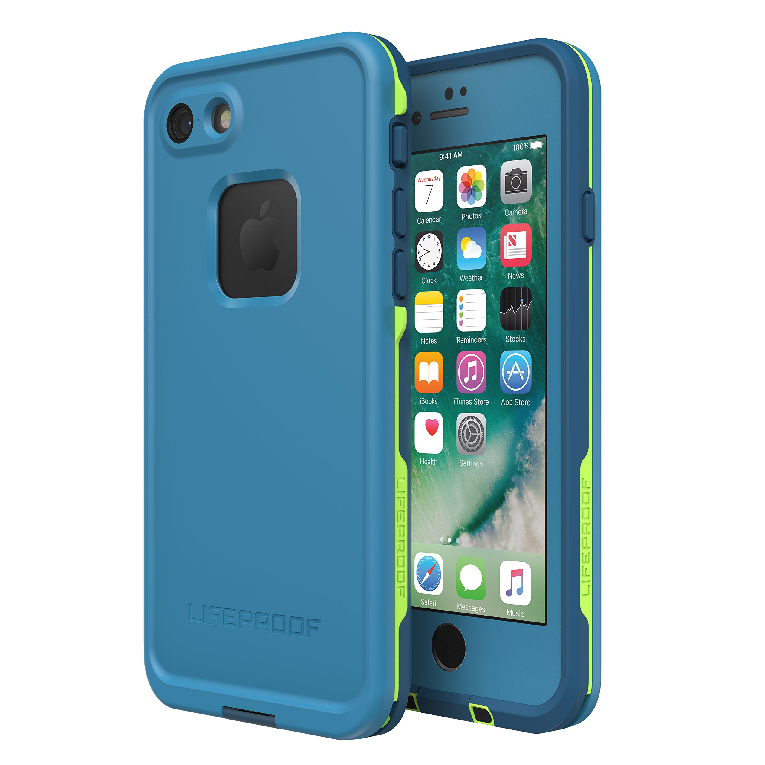 Lifeproof FRĒ SERIES Waterproof Case for iPhone 8 & 7 (ONLY) - Retail Packaging - BANZAI (COWABUNGA/WAVE CRASH/LONGBOARD) by LifeProof