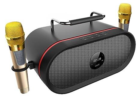 Review Portable Bluetooth Karaoke Speaker[2018