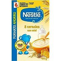 Nestlé Papillas - 8 cereales con Miel, a
