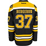 Reebok Boston Bruins Patrice Bergeron Premier Home Jersey