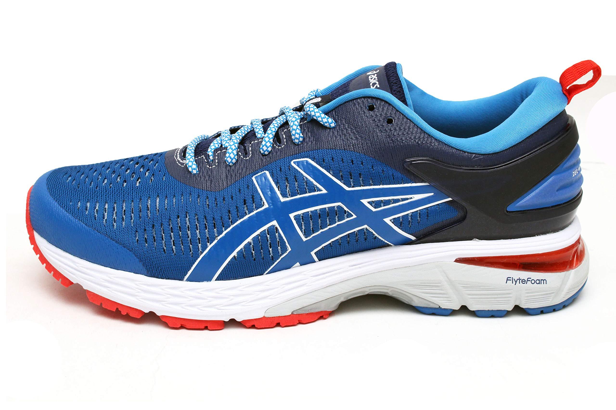 ASICS Women's Gel-Kayano 25 Running Shoe (6.5 B(M) US, Indigo Blue/Directoire Blue)