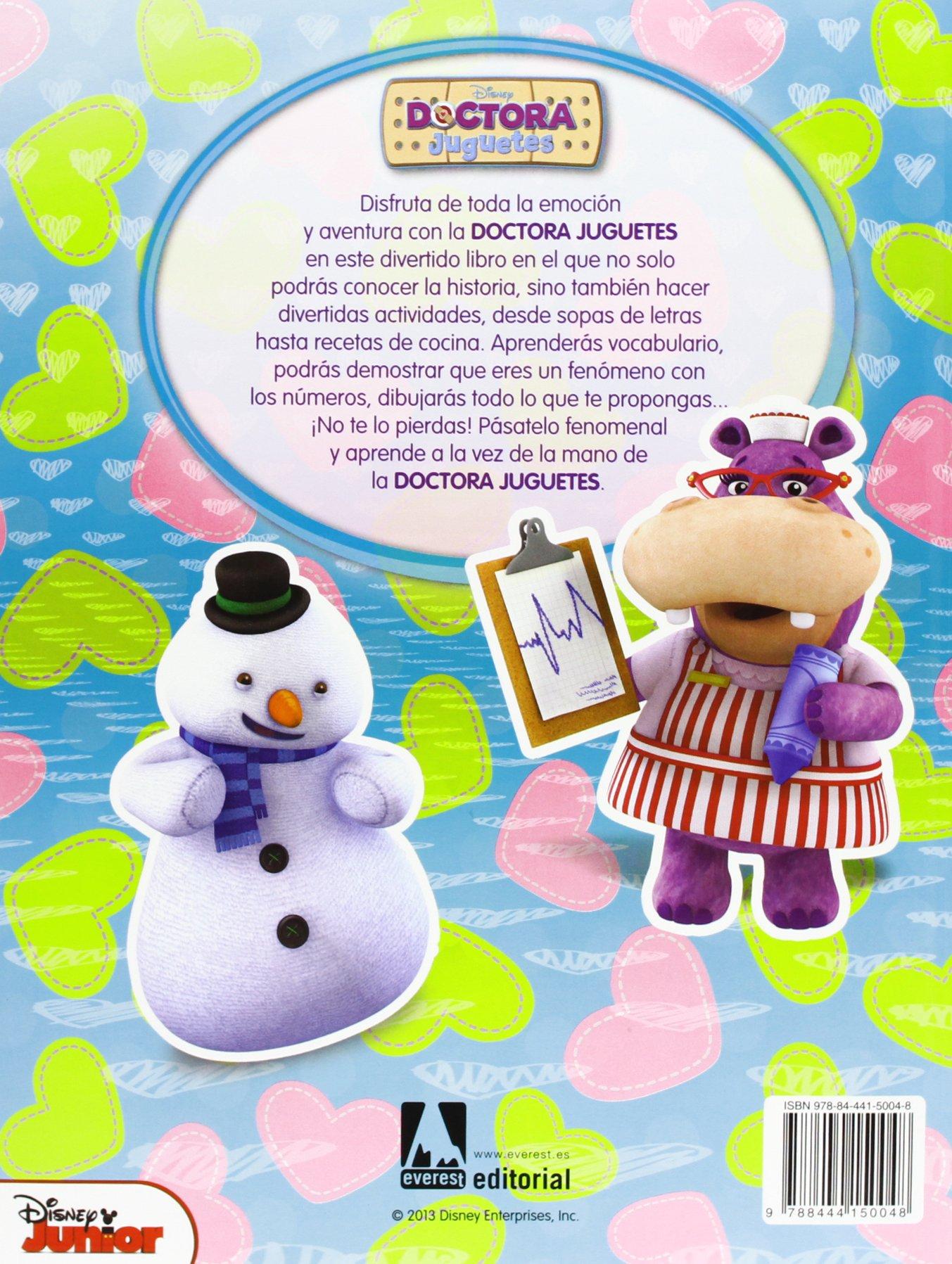 Doctora Juguetes: Libro educativo con actividades y pegatinas Juego ...