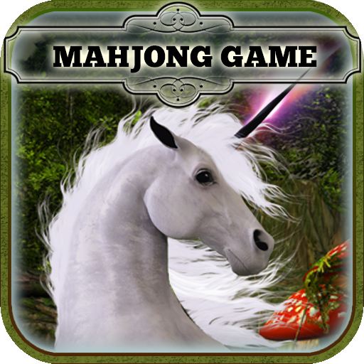 Mahjong - Enchanted Garden of the Unicorns (Mahjong Garden)