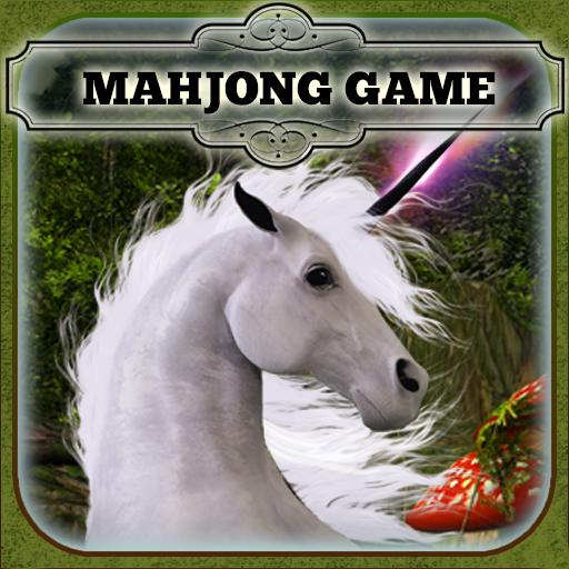 Mahjong - Enchanted Garden of the Unicorns