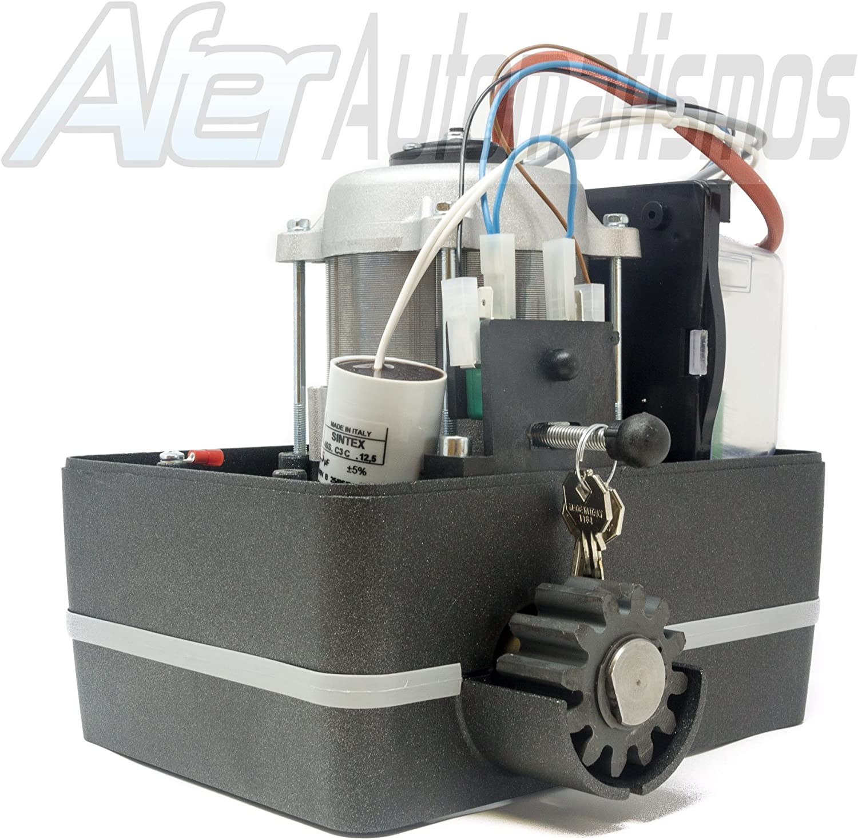 Kit motor para puerta de garaje o cancela corredera VDS SIMPLY 600 ...