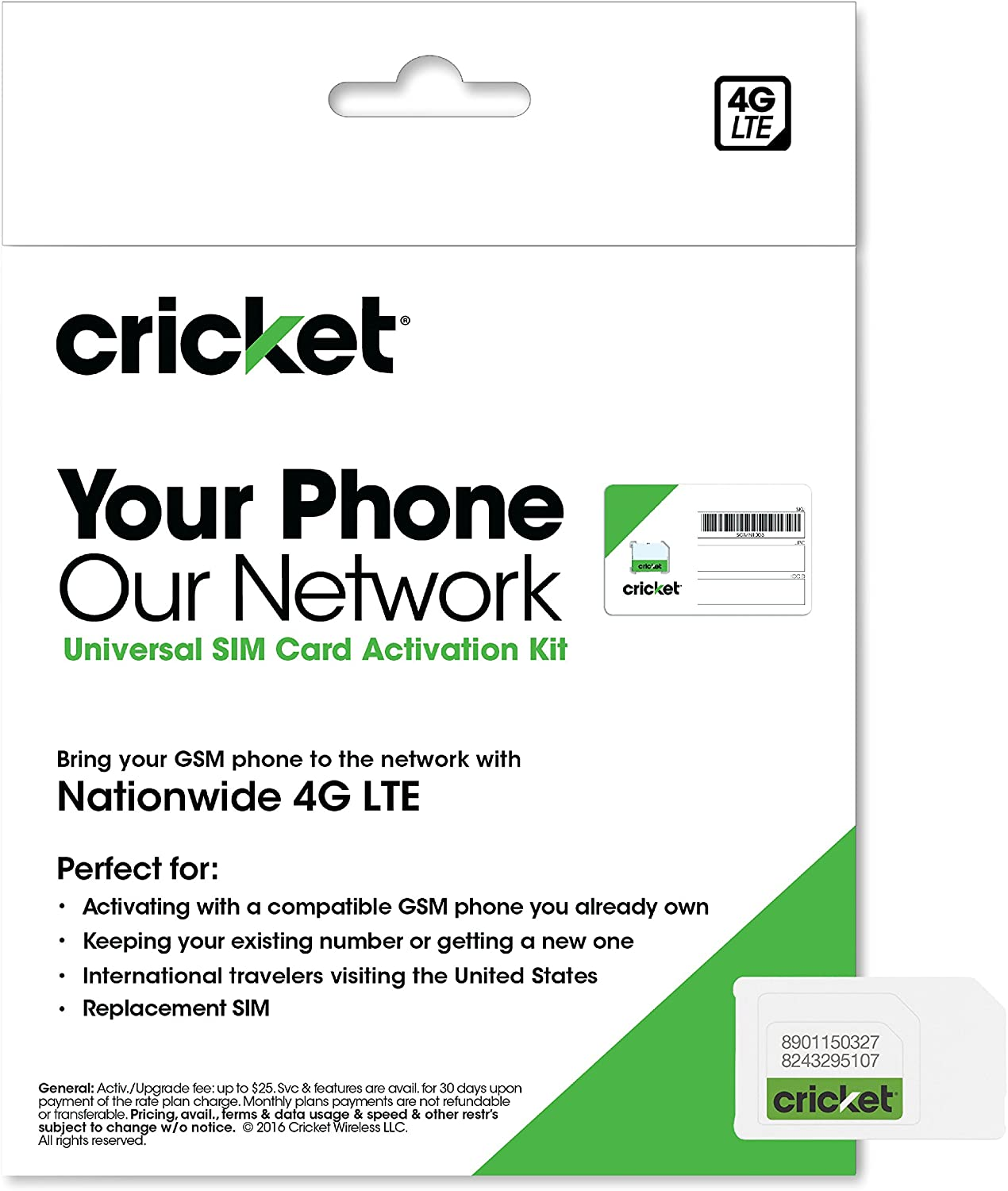 Amazon.com: Wireless completa Starter Pack de Cricket: Nano ...