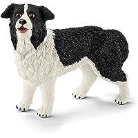 Schleich Border Collie Toy, Black/White