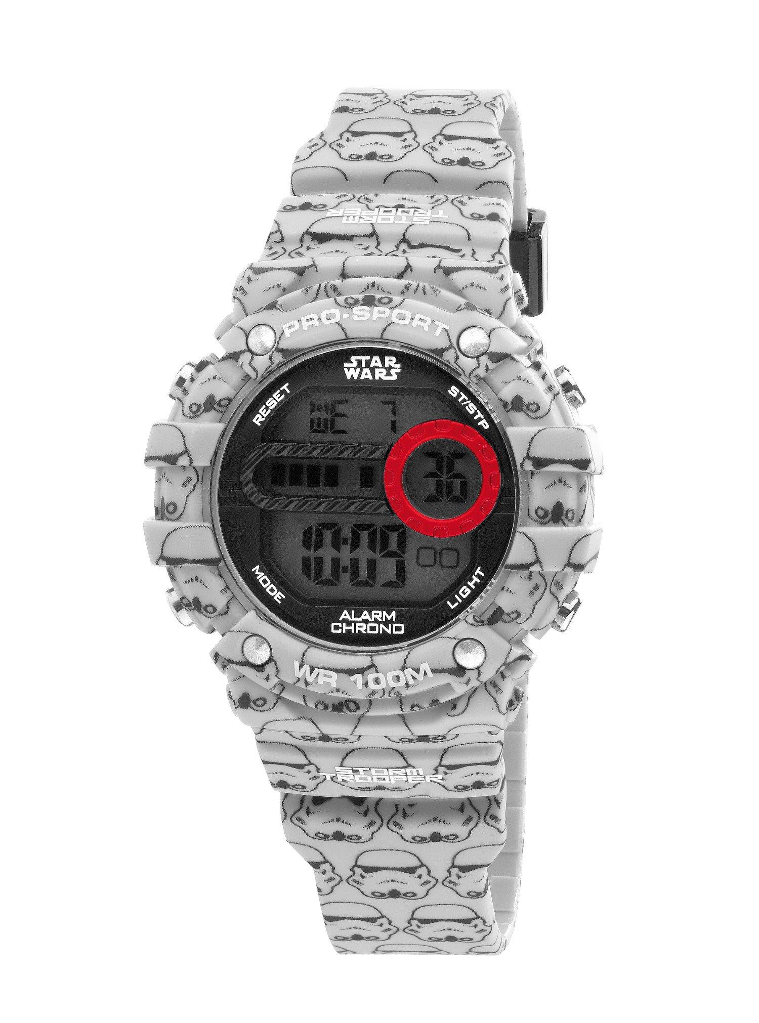 AM:PM Kid's Star Wars Storm Trooper Digital Sports Watch SP188-U482 Gray/Black