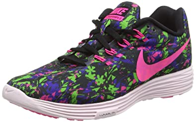 buy online d2aa5 c8cc7 Nike Lunar Tempo 2 Print, Women Training Running Shoes, Multicolored  (Black Concord
