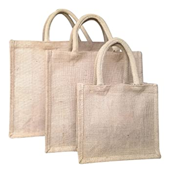 Buy Jute bag, Grocery bag, Gift bag, Lunch bag, Shopping Bag ...