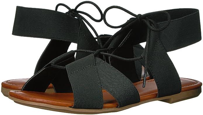 c2b12ed6d0 Amazon.com | MIA Women's Bonnie Gladiator Sandal | Flats