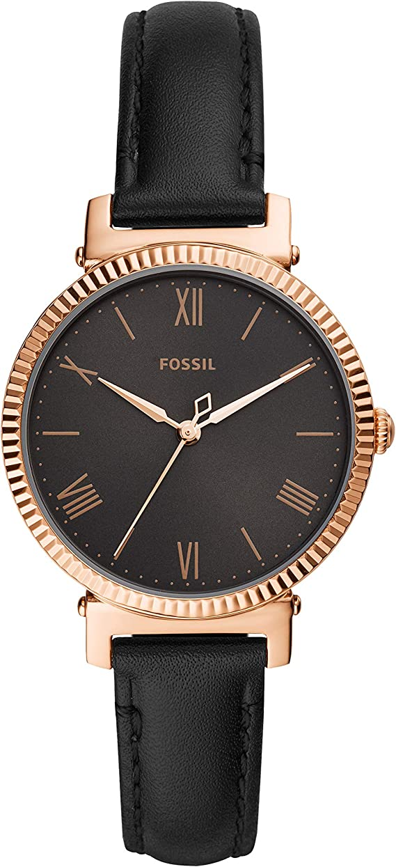 Fossil Womens Daisy Stainless Steel Casual Quartz Watch