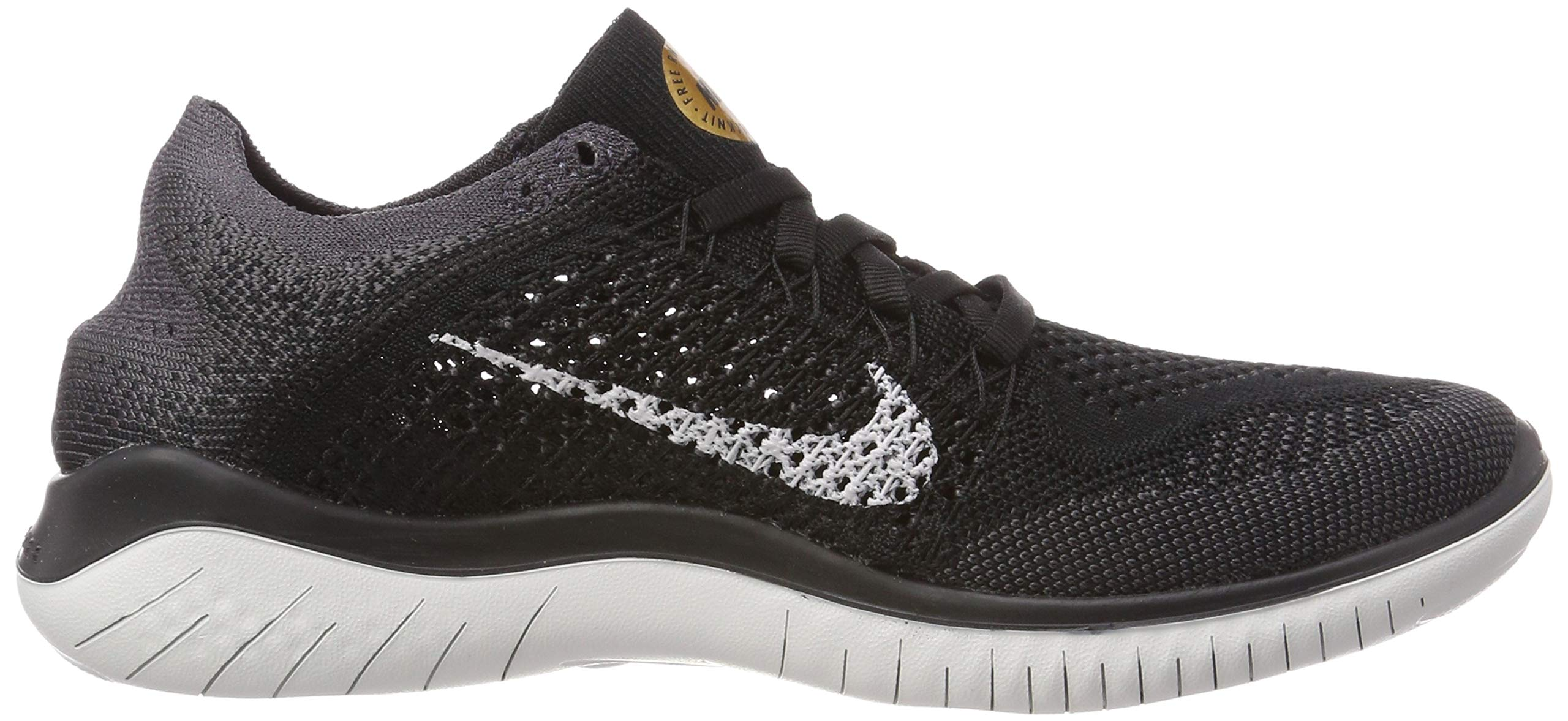 Nike Womens Free Rn Flyknit 2018 Womens 942839-005 Size 5 by Nike (Image #6)