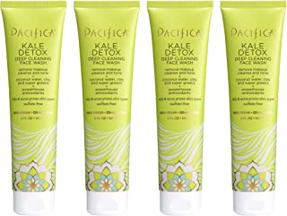 product image for Pacifica Kale detox deep cleansing face wash, 5 Fl Oz, Pack of 4