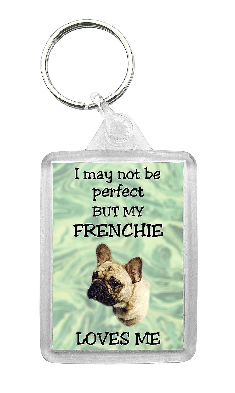 Amazon.com: BullDog francés llavero