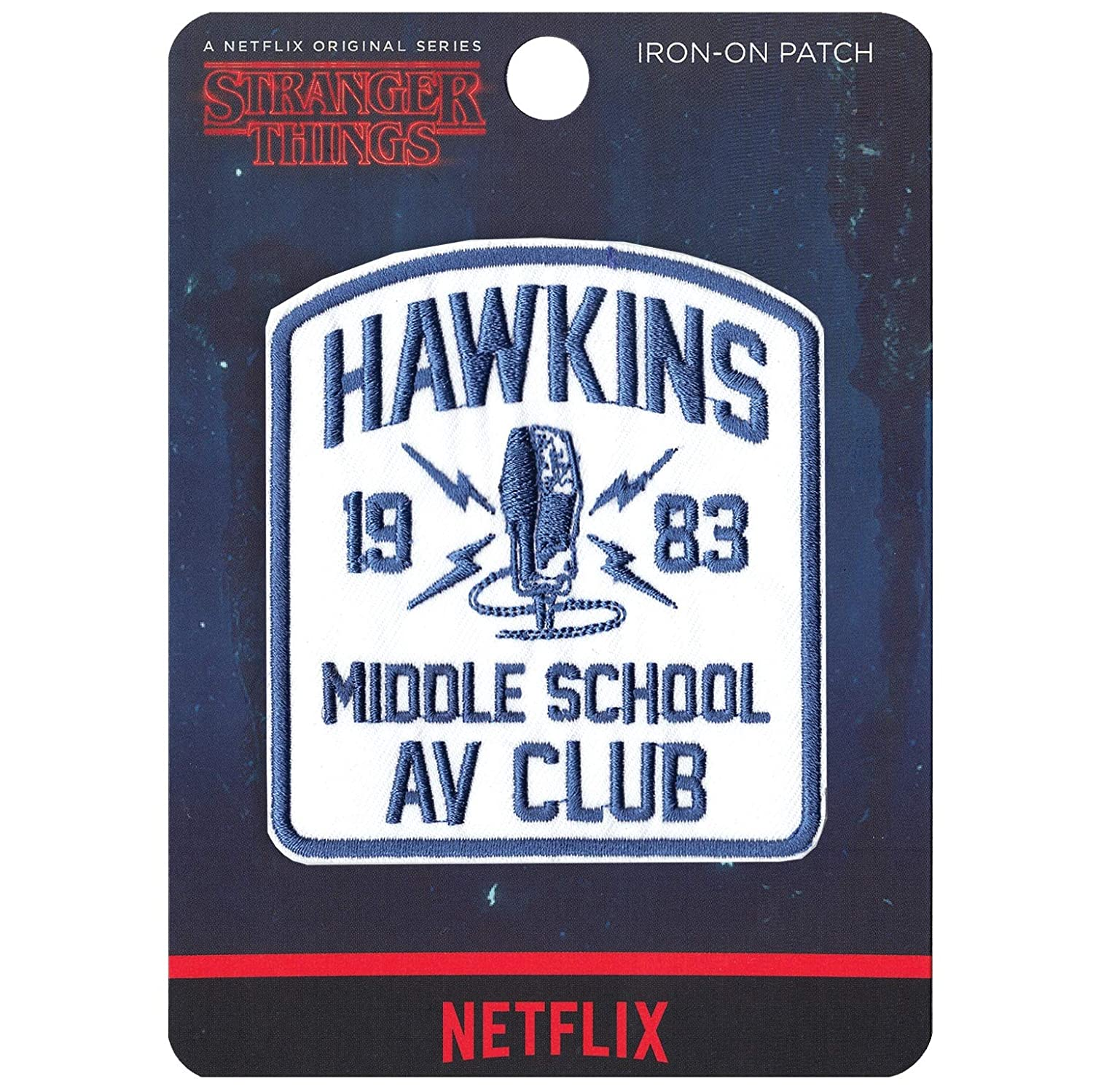 Amazon.com: Stranger Things Hawkins escuela media AV Club ...