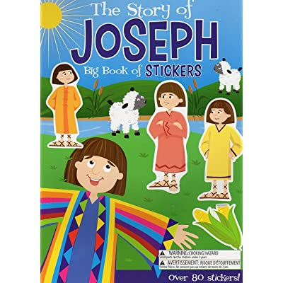 Big Book of Stickers - The Story of Joseph - Activity Book Includes Over 80 Stickers: Toys & Games