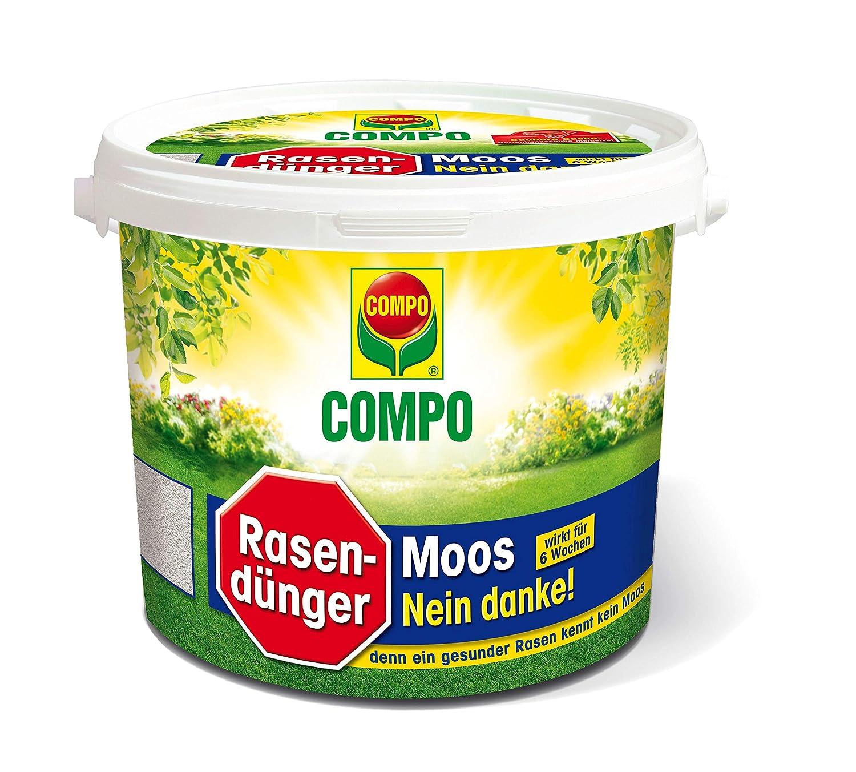 Compo Fertilizante para césped (musgo de no Danke.: Amazon.es: Jardín