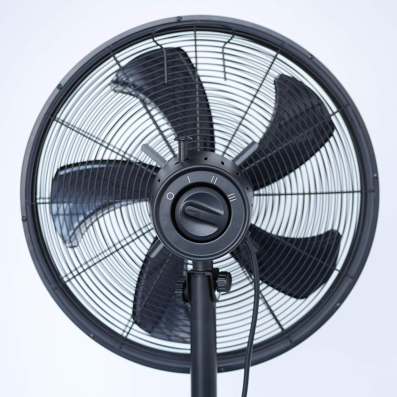 vasner ventury S ventilador de pie, diámetro 45 cm, 50 W | Stand ...