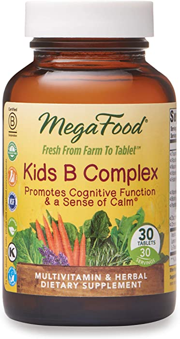 The Best Mega Food Kids B Complex