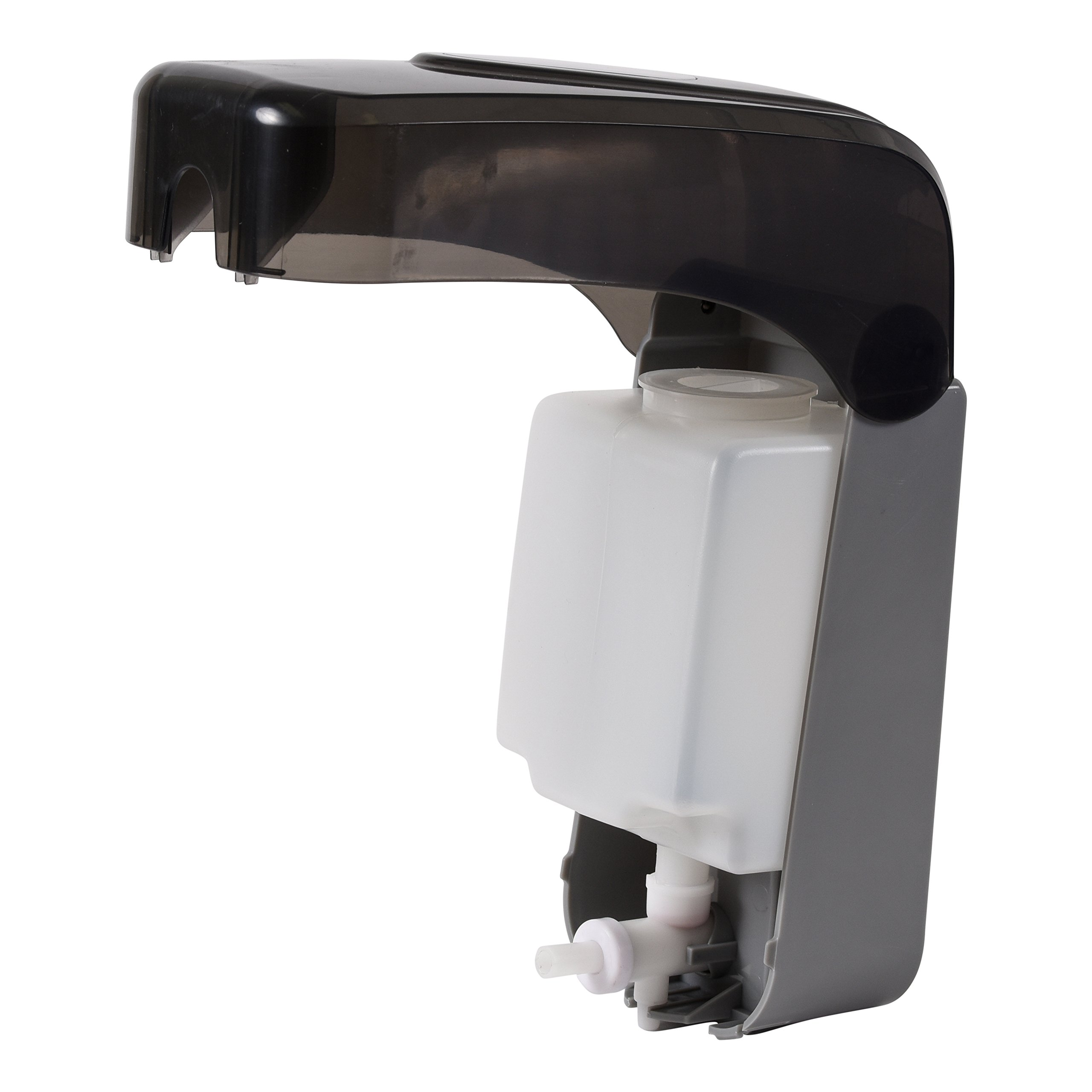 Soap Dispenser by Oasis Creations  Soap/Lotion-Wall Mount– 1000ml/33oz. Commercial Or Residential -Black Smoke by Oasis Creations (Image #4)
