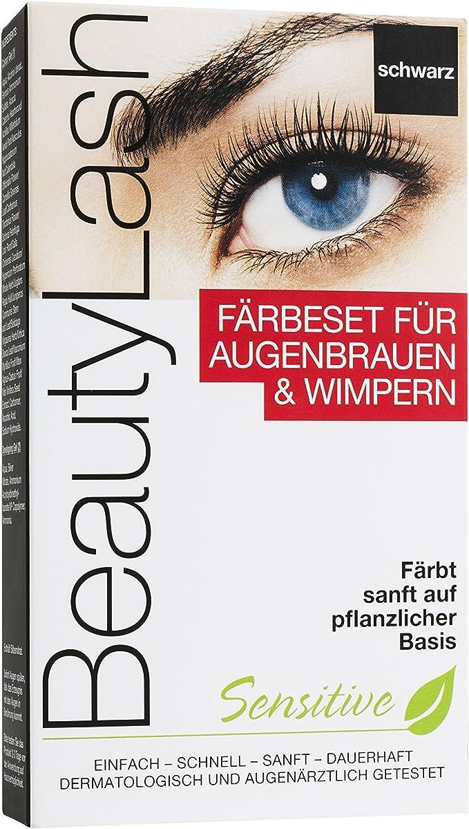 Beauty Lash färbe Set Sensitive Negro, 1 pieza
