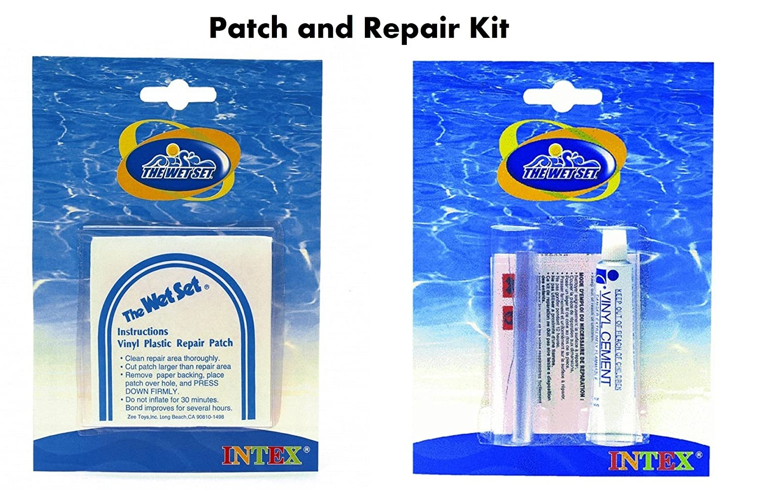 Amazon.com: Intex RECREATION 59632EP Vinyl Repair Kit: Garden & Outdoor