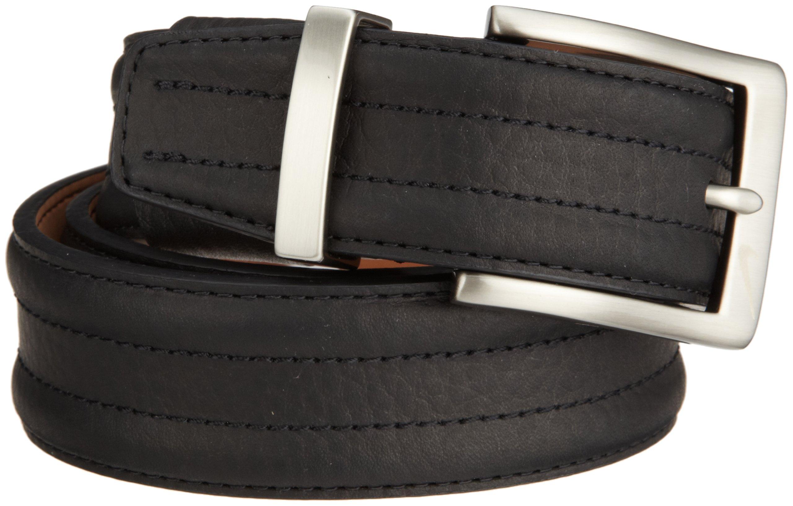 Nike Basic Tripunto G-Flex Belt (Black, 34)