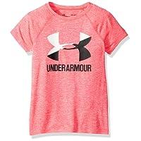 Under Armour Camiseta de Manga Corta para niña con Logo Grande