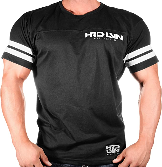 HRDLVN Clothes Classic Workout Tshirt Navy