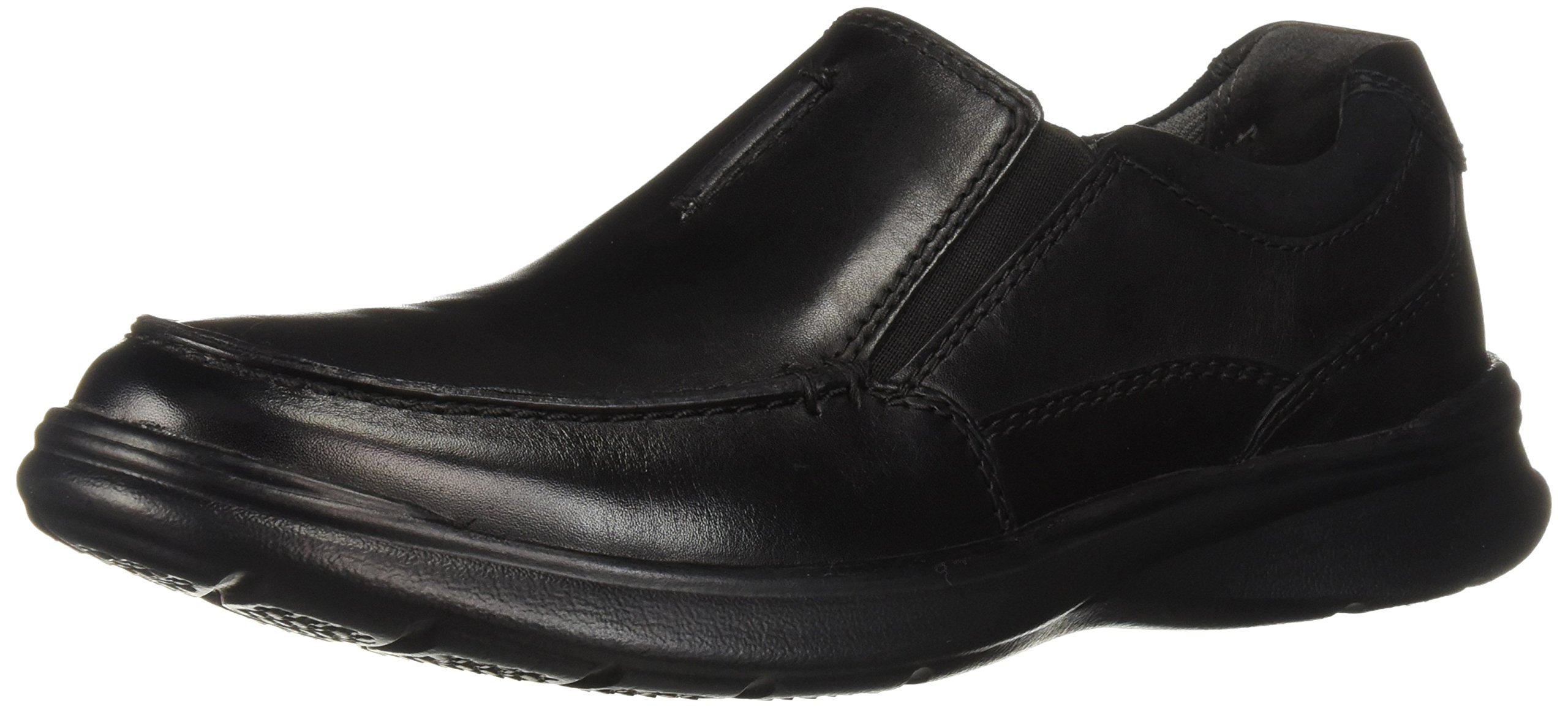 CLARKS Men's Cotrell Free Shoe, Black Smooth Leather, 110 W US
