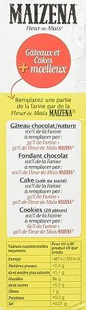 Maizena Farine Pour Lier Sans Gluten Fleur De Mais 400g Amazon Fr