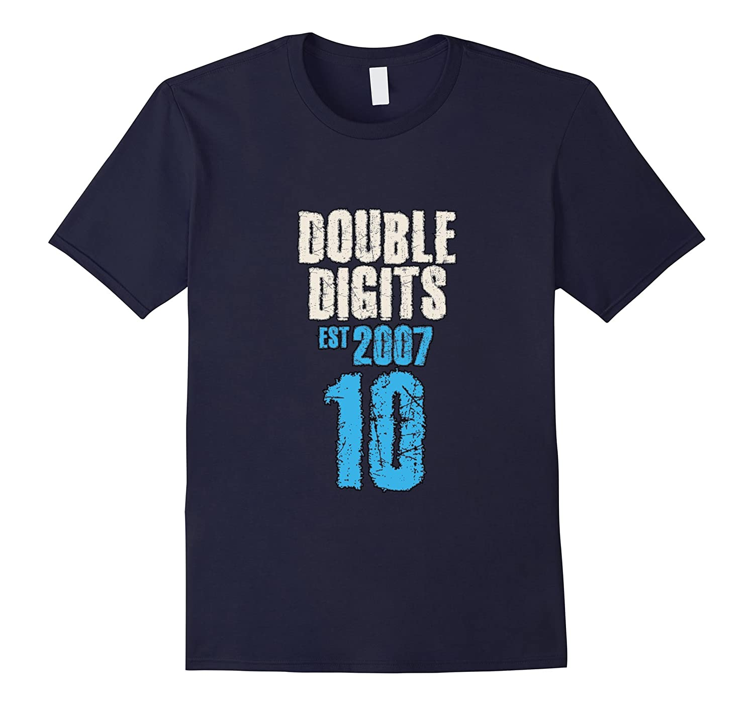 10th Birthday Tshirt Age 10 Year Old Cool Boy Girl Shirt-FL