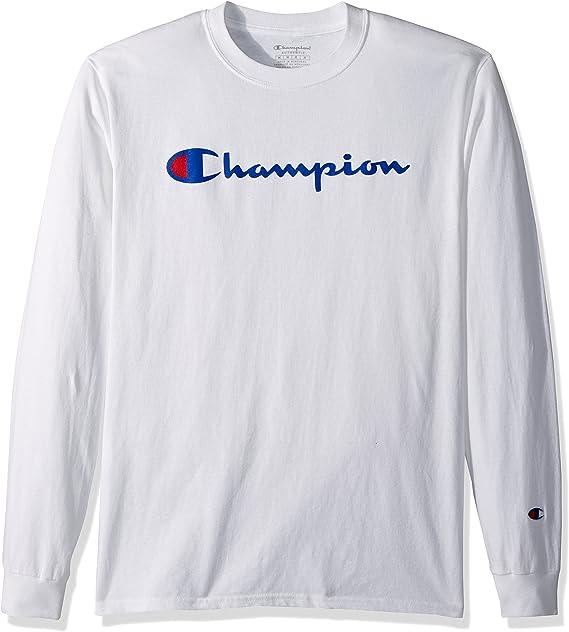 Champion Camiseta de Manga Larga para Ni/ños