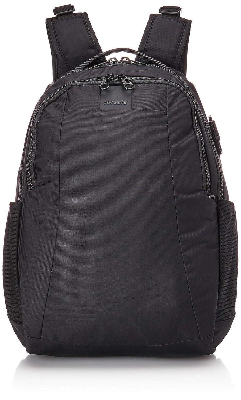 Pacsafe Metrosafe LS350 15 Liter Anti Theft Laptop Daypack/Backpack Adjustable Shoulder Straps Patented Security Technology (Black) Outpac Designes Inc.- PACSAFE 30430