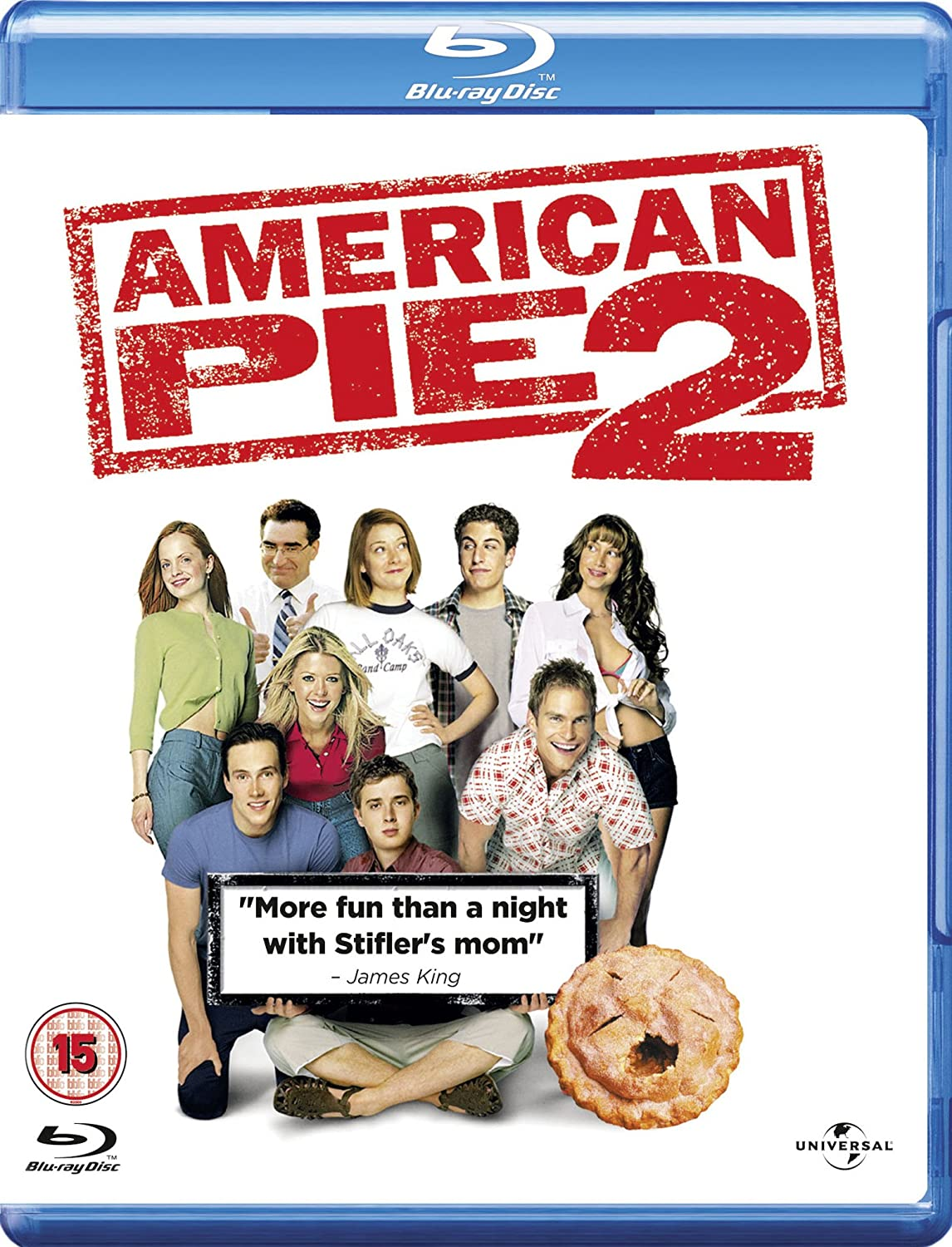 American Pie 2 Blu Ray 2001 Amazon Co Uk Jason Biggs Chris Klein Alyson Hannigan James B Rogers Jason Biggs Chris Klein Dvd Blu Ray