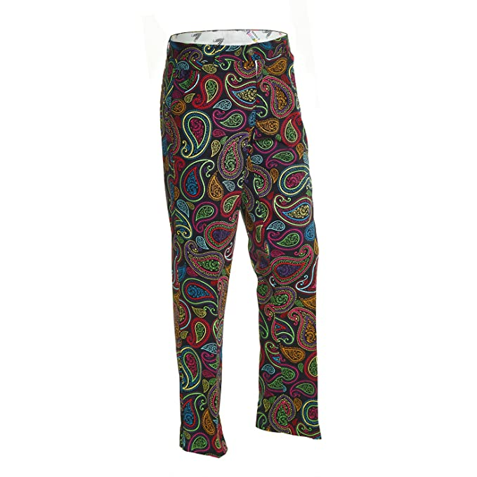 60s – 70s Mens Bell Bottom Jeans, Flares, Disco Pants Royal & Awesome Mens Golf Pants $74.99 AT vintagedancer.com