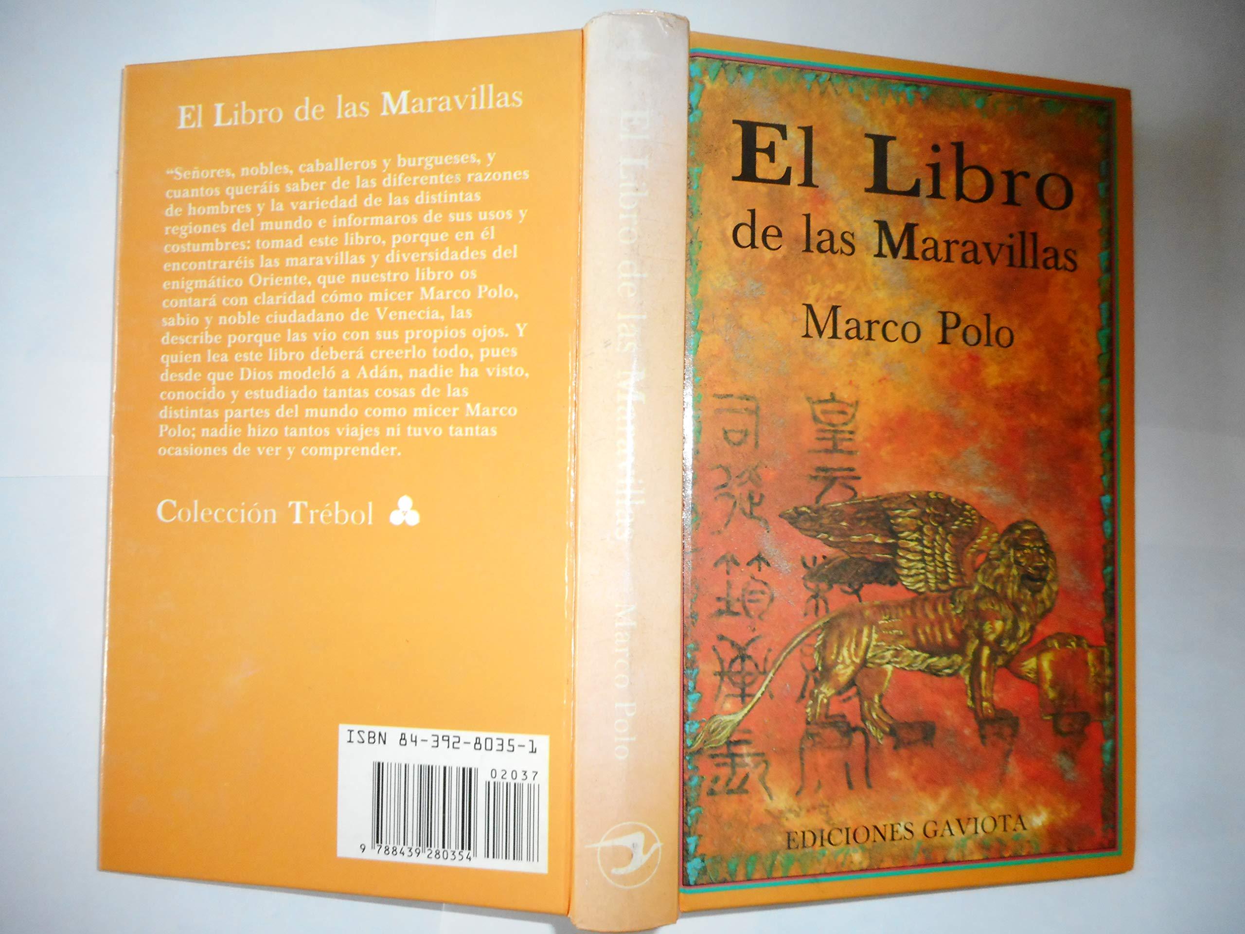 El Libro de las Maravillas (Trébol): Amazon.es: Polo Marco: Libros